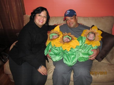 Rivera Family at Halloween